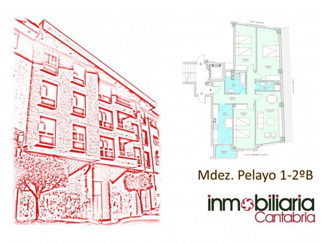 Piso en venta en Los Corrales de Buelna con 3 habitaciones, 2 baños y 105 m2 por 90.000 €