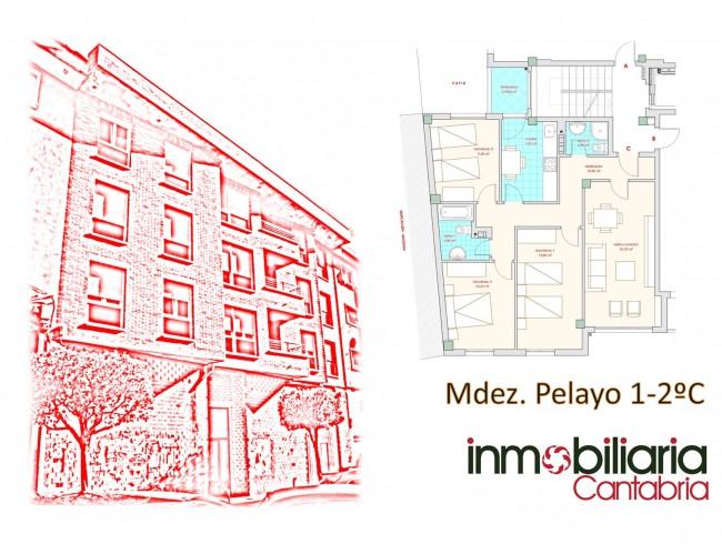 Piso en venta en Los Corrales de Buelna con 3 habitaciones, 2 baños y 91 m2 por 80.000 €