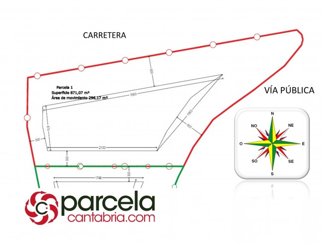 Parcela en venta en San Felices de Buelna por 48.000 €